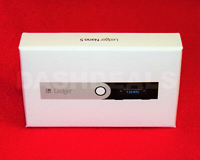 READY TO SHIP Brand NEW Ledger Nano S Cryptocurrency Bitcoin Ethereum Wallet
