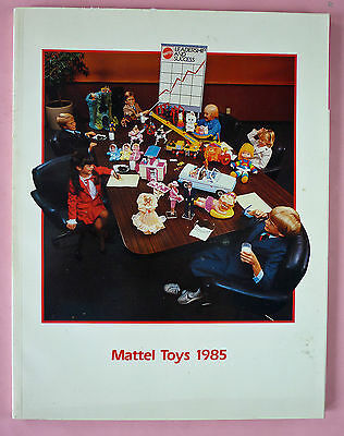 1985 Mattel Toys Catalog - Barbie, Hot Wheels, Masters Of The Universe, Etc -