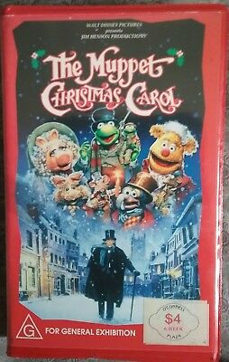 The Muppet Christmas Carol Clam Shell Vhs Tape