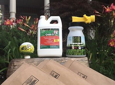 Fall Lawn Care Kit - Covers 4000ft2 (property dimensions of approx 40'x150')