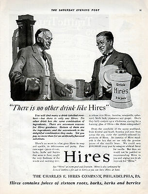 1919 Hires Root Beer Ad -At Every Good Soda Fountain ---t532