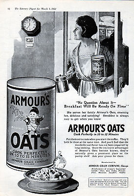 1922 Armour's Oats ad -l-421