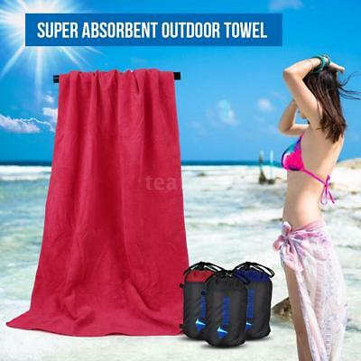 Microfiber Towel Gym Sport Travel Camping Swimming Quick-Drying Towel New W7Q3