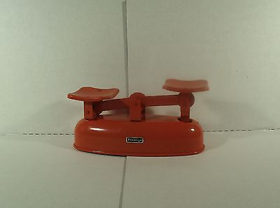 Vintage Prestige Retro Orange Balance Scale