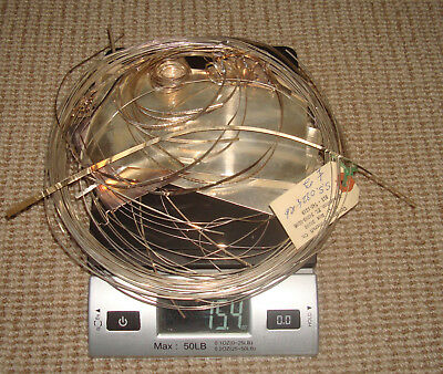 Scrap Sterling Silver 15.4 Ounces 436 Grams wire supplies Jewelry Making Melt