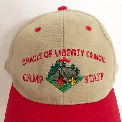 Cradle Of Liberty Council Camp Staff Boy Scouts of America Cap Hat SnapBack