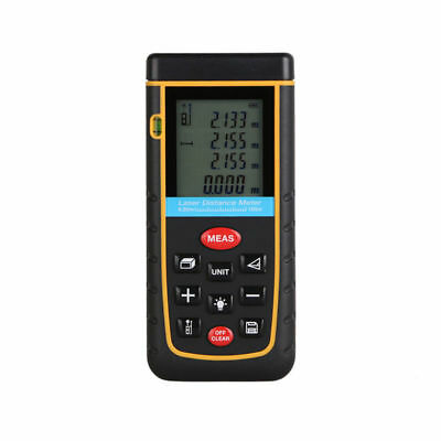 100M Handheld LCD Laser Distance Meter Digital Measure Diastimeter Range Finder