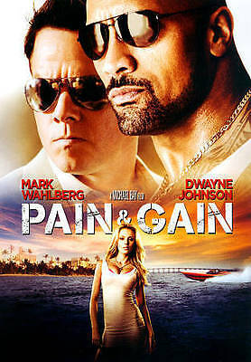 Pain & Gain (DVD, 2014) The Rock/ Mark Wahlberg FAST FREE SHIPPING NEW SEALED