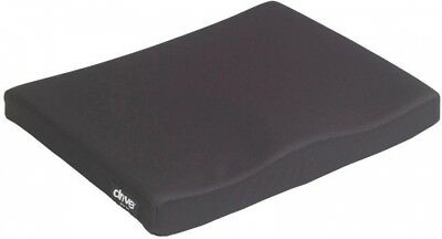 Drive 20 in. W Molded General Use 1-3/4 in. Wheelchair Seat Cushion Polyester