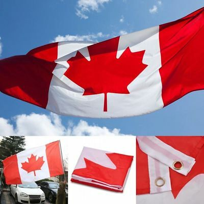 Canadian Flag 3 x 5 foot Canada National Maple Leaf Outdoor