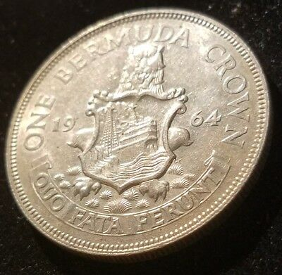 Bermuda 1964 Silver Crown