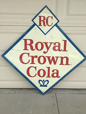 Diamond Shape RC Royal Crown Cola Sign