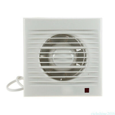 Wall Window 4inch Exhaust Fan Bathroom Kitchen Toilets Ventilation Fans 220V WG9