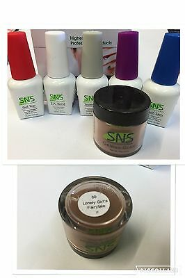 SNS Clearance: 60-LONELY GIRLS FAIRYTALE Nail Color Dipping Powder Kit SNS