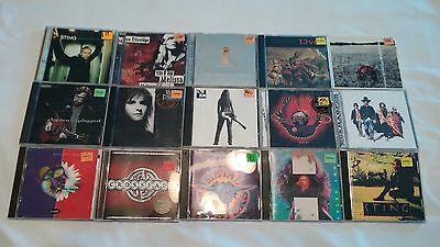 Lot Of 15 Cds Rock Country Alternative Metal Music