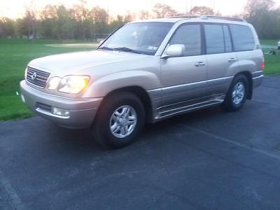 1999 Lexus LX (Toyota Landcruiser) 4x4 Leather Sun Roof Beautiful Low Mileage 1999 Lexus LX 470 4x4 SUV (Toyota Landcruiser)  24 photos