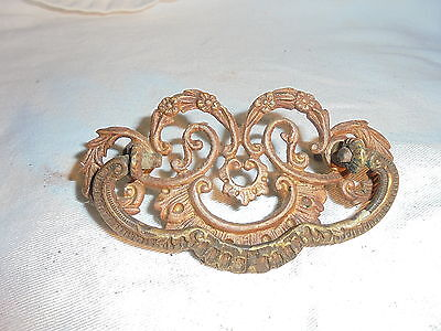 Antique Victorian drawer pull #A102