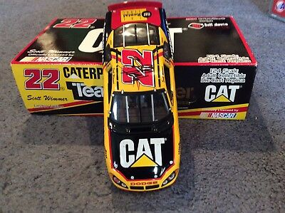 Scott Wimmer 1-24 diecast Caterpiller . signed