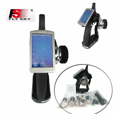 Flysky FS-iT4S 4CH Touch Screen 2.4GHz AFHDS2 Radio Control Gun for RC Car Boat