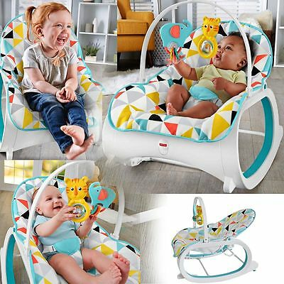 Rocker Bouncer Seat Baby Chair Sleeper Swing Portable Newborn Infant to Toddler