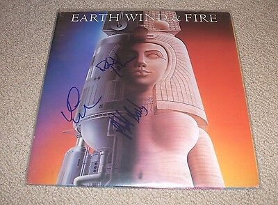 Earth Wind And Fire - Raise! Vinyl Lp Record *signed* Phillip Bailey