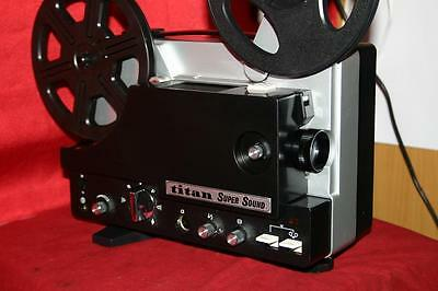 Projector Heaven Titan Super 8 Sound Movie Projector, Lsp-510  Fully Serviced A1
