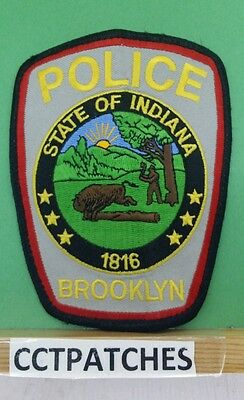 Brooklyn, Indiana Police Shoulder Patch In