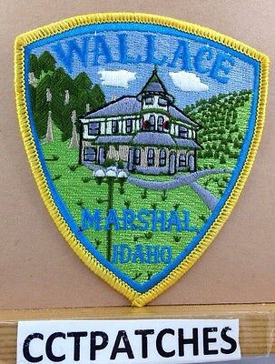 Wallace, Idaho Marshal (Police) Shoulder Patch Id