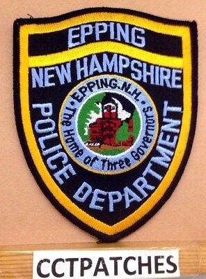 Eppins, New Hampshire Police Shoulder Patch Nh
