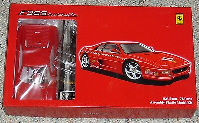 Fujimi 1/24 Ferrari F355 50th Annv World Tour