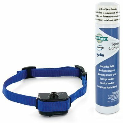 PetSafe Deluxe Spray Anti Bark Control Collar Dog Pet Training 2.7-26 kg 6061B