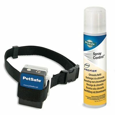 PetSafe Spray Anti Bark Control Collar Citronella Dog Pet Training >2.7 kg 6061D
