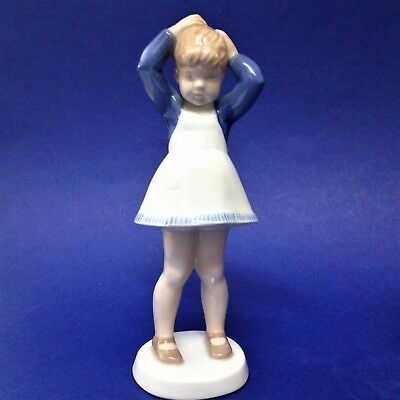 Retired Copenhagen Bing & Grondahl - Anne # 2381 Figurine  - by Claire WEISS