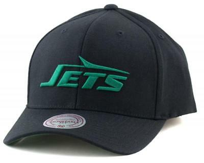 New York Jets Cap - Mitchell & Ness NFL NY Hat - Mitchell And Ness In Black