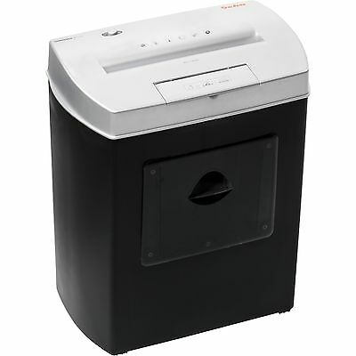 Geha Aktenvernichter Home & Office X7CD, schwarz
