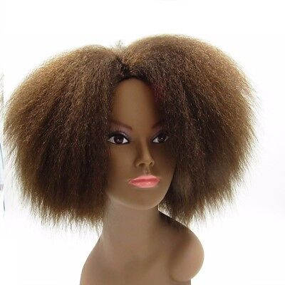 2Pc/Pack Kanekalon Afro Kinky Curly Hair Weave Synthetic As Human Hair Extension
