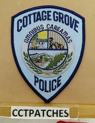 Cottage Grove, Oregon Police Shoulder Patch Or