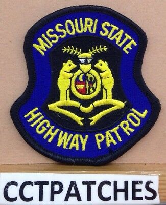 Missouri State Highway Patrol (Small) Police Shoulder Patch Mo