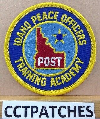 Idaho Peace Officers Training Academy (Police) Shoulder Patch Id