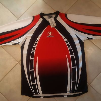 OT SPORTS Team Canada Lacrosse Sublimated Shooter Shirt - Large - NEW