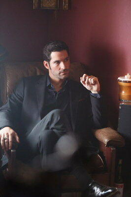"007 Lucifer - Tom Ellis Fallen Angel Season 1 2 3 USA TV Show 24""x36"" Poster"