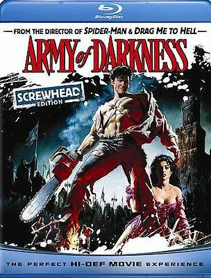Army of Darkness . (Blu-ray Disc, 2009, Screwhead Edition)