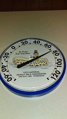 Mr. Peanut Sails Three Rivers Thermometer From Tm And Nabisco