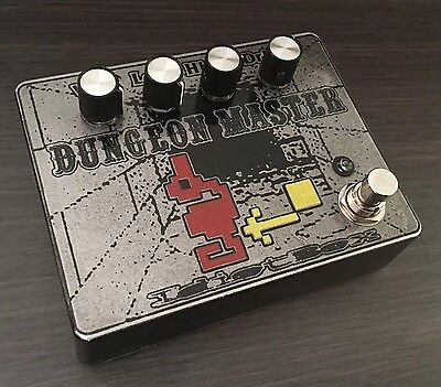 Idiotbox Effects - Dungeon Master Fuzz/doom Guitar Pedal. Authorized Dealer!