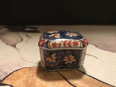 Vintage Chinese Tea Caddy With Amazing Color, Pristine Condition. Dont Miss This