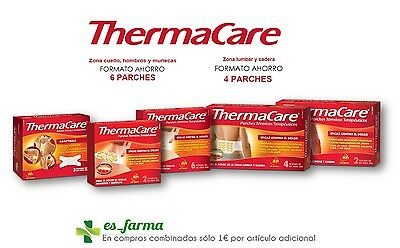 Thermacare Patches Thermal Therapeutic Heat Pain Back Neck Lumbar