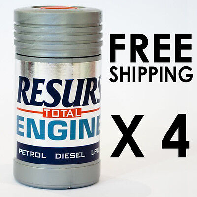 RESURS TOTAL ENGINE OIL ADDITIVES TREATMENT for Petrol Diesel TRUCK CIVIC TYPE R