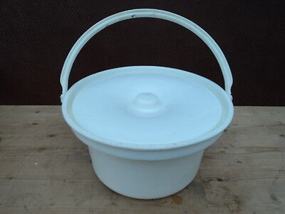3L Commode Bucket and Lid Made in England by Halex