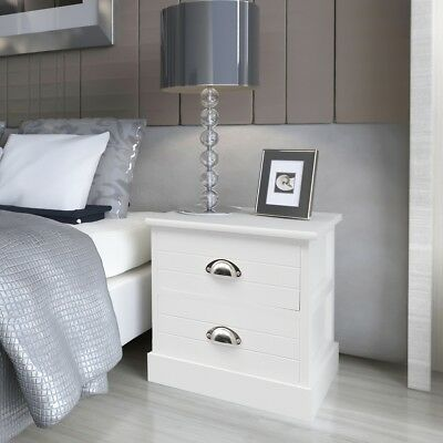 French Bedside Cabinet Storage Table Nightstand Bedroom End Telephone Stand
