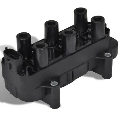 Ignition Coil Fit for Vauxhall High Quality Black 12 V PBT & Epoxy